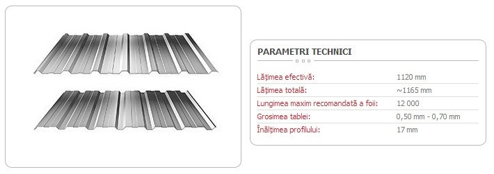 TABLĂ-TRAPEZOIDALĂ-T-18-ECO