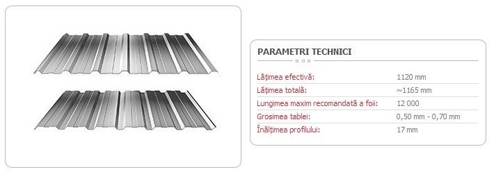 TABLĂ-TRAPEZOIDALĂ-T-18-ECO