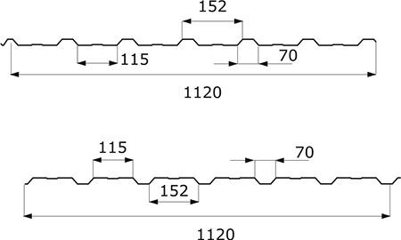 TABLĂ TRAPEZOIDALĂ T-18 ECO_dim