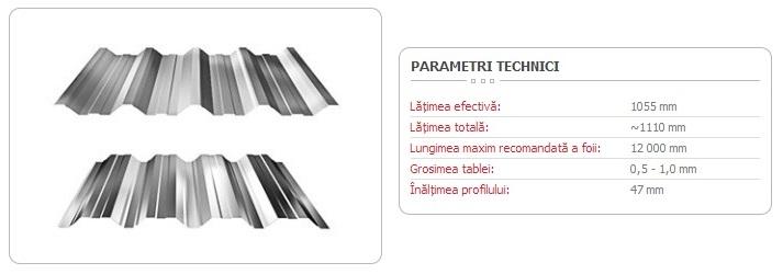 TABLĂ-TRAPEZOIDALĂ-T-50