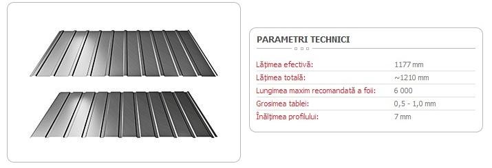 TABLĂ-TRAPEZOIDALĂ-T-7