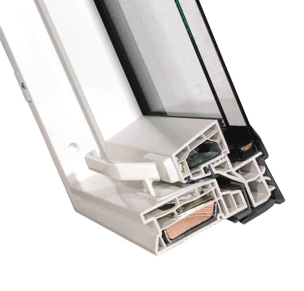 Fereastra de mansarda Fakro FTP-V U3 (sistem inchidere)