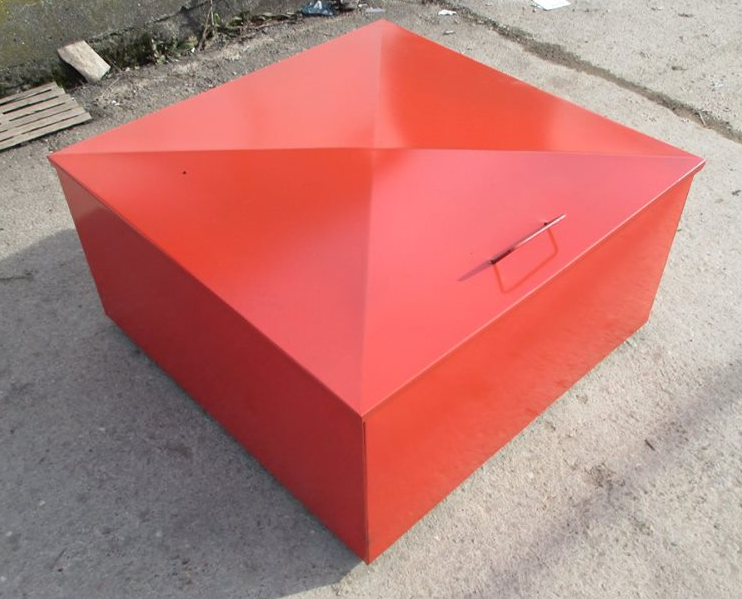 Cutie metalica pentru nisip 2