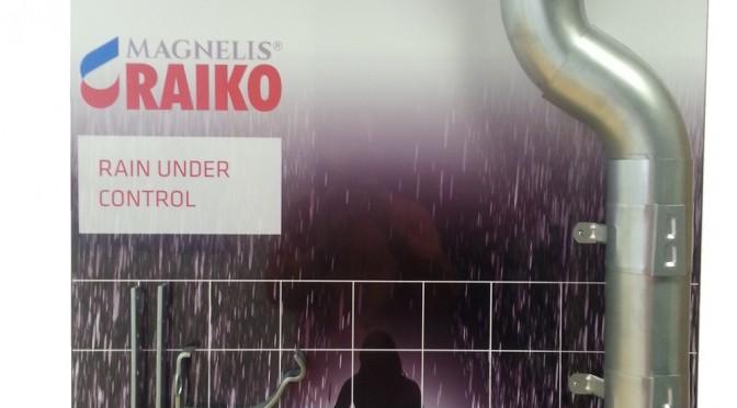 Sistem pluvial Raiko Magnelis (zincat) 150/100 mm, otel SSAB Suedia- preturi